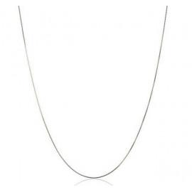 Cadena Veneciana Oro Blanco 18 Kts. 40 cm